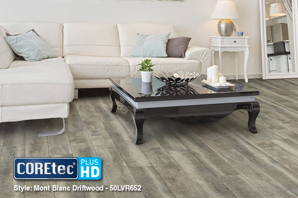 Unique and Sustainable Floors from COREtec Plus® HD